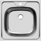Мойка накладная 50 х 50 см из нержавеющей стали  UKINOX   STD  500.500 - 1602