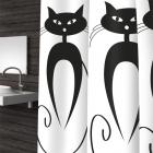 Штора текстильная Bacchetta 180x200 Cats - 1764