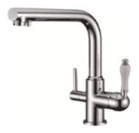 KAISER Vincent 31144  Смеситель для кухни однорычажный, с переключением на питьевую воду - 1829