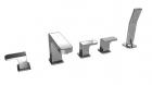 KAISER  Sonat  34222  Смеситель для ванны встраиваемый (на борт ванны), на пять отверстий  - 1860