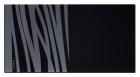 Разделочная доска из черного безопасного стекла для всех моделей с шириной 480-500 мм SCHOCK (кроме VENUS)  - 1955