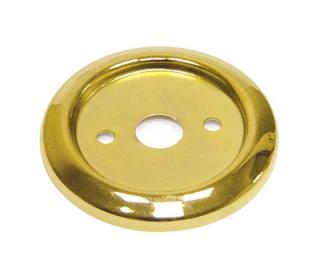 Нижнее плоское крепление для барной стойки в цвете золото