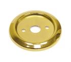 Нижнее плоское крепление для барной стойки в цвете золото - 2274