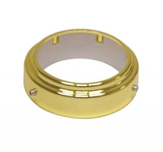 Кольцо фиксирующее для барной трубы золото