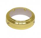 Кольцо фиксирующее для барной трубы золото - 2282