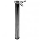 Нога барная с верхним креплением хром - 2344