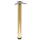 Нога барная с верхним креплением золото - 2346