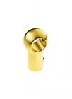Крепеж для рейлинга классический золото Lemi (Италия) - 2369