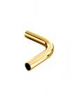Угол для рейлинга на 90 градусов золото Lemi (Италия) - 2371