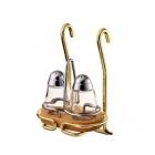 Держатель подвесной для соли и перца золото  Lemi (Италия) - 2428