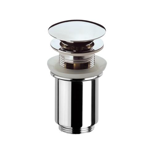 Донный клапан с переливом хром  Frap 60 - 1