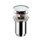 Донный клапан с переливом хром  Frap 60 - 2854