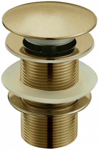 Донный клапан с переливом бронза  Frap 60-4 - 1