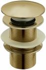 Донный клапан с переливом бронза  Frap 60-4 - 2855