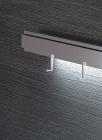 Крючок одинарный на рейлинги модерн нержавеющая сталь Barra Lemi  - 2881