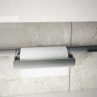 Держатель для бумажных полотенец на рейлинги модерн нержавеющая сталь Barra Lemi - 2887