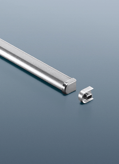 Рейлинг для кухни 60 см модерн нержавеющая сталь  Linero 2000 Kessebohmer - 2