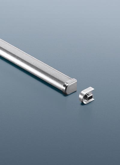 Рейлинг для кухни 120 см модерн нержавеющая сталь Linero 2000 Kessebohmer - 2