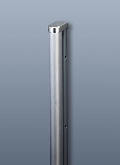 Заглушка для рейлинга модерн нержавеющая сталь Linero 2000 Kessebohmer - 3