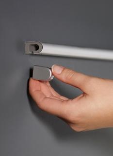 Заглушка для рейлинга модерн нержавеющая сталь Linero 2000 Kessebohmer
