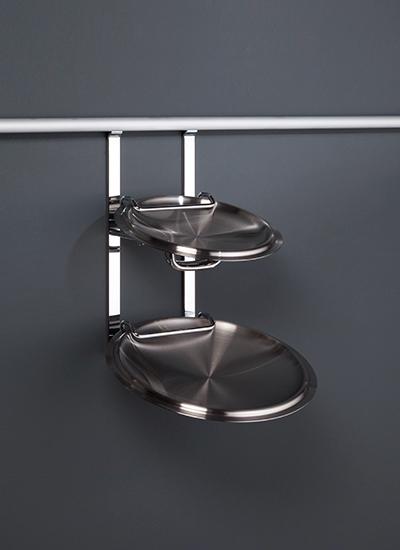 Держатель для крышек на рейлинги модерн нержавеющая сталь Linero 2000 Kessebohmer - 1