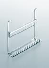 Полка для книг на рейлинги модерн нержавеющая сталь Linero 2000 Kessebohmer - 2923