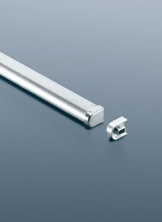 Рейлинг для кухни 120 см модерн (алюминий и хром матовый) Linero 2000 Kessebohmer