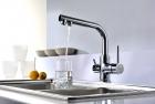 Смеситель для кухни однорычажный, с переключением на питьевую воду Lemark Comfort LM3061C  - 3005