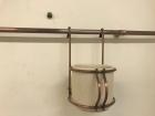 Стакан керамический для столовых приборов на рейлинги старая медь  Simonetti (Италия) - 3022