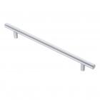 Ручка рейлинг 384 х 12 мм, отделка матовый хром - 3096