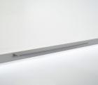 Полка верхняя большая на рейлинги модерн серый титан Mosaiq. Kessebohmer (Германия) - 3192