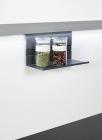 Полка универсальная, низкая на рейлинги модерн черный графит Mosaiq. Kessebohmer (Германия) - 3214