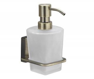 Дозатор для жидкого мыла стеклянный, 300 ml  Exter K-5200 Wasserkraft