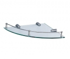 Полка стеклянная угловая Wasserkraft - 3367