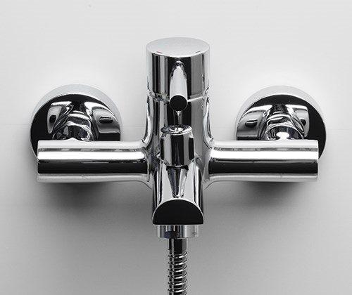 Смеситель для ванны с коротким изливом Main 4100 Wasserkraft - 2