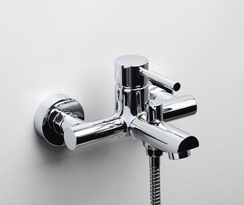 Смеситель для ванны с коротким изливом Main 4100 Wasserkraft - 3