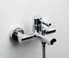 Смеситель для ванны с коротким изливом Main 4100 Wasserkraft - 3379