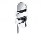 Смеситель встраиваемый для ванны и душа Main 4100 Wasserkraft - 3383