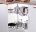 Карусель в нижний угловой шкаф кухни - 3452