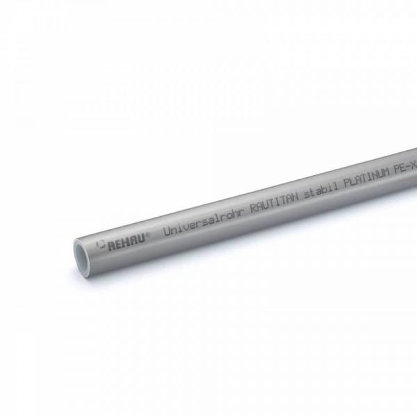 Универсальная труба REHAU RAUTITAN stabil PLATINUM d32 для систем водоснабжения и отопления - 1