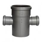 Крестовины из полипропилена одноплоскостные на 90 град. для канализационных систем SINICON - 3648
