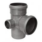 Крестовины двухплоскостные из полипропилена для канализационных систем SINICON  - 3649