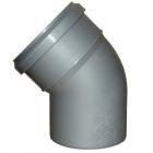 Отводы из полипропилена на 67 град. для канализационных систем SINICON - 3655