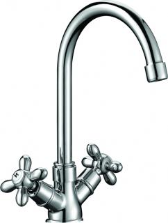 KAISER Carlson 11053 U   Смеситель для кухни с двумя рукоятками (Германия) - 715
