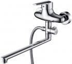 KAISER Orbit 20055 К  Смеситель для ванны однорычажный с душевым набором (Германия) - 746