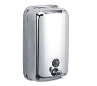 Дозатор жидкого мыла FRAP  402,  металлический, 800 мл
