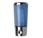 Дозатор жидкого мыла FRAP 406,  белый пластик, 350 мл - 988